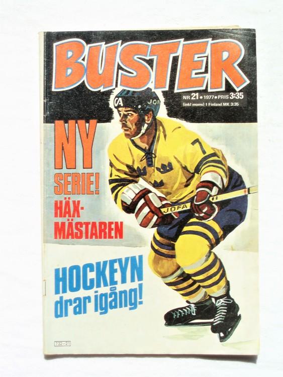 Buster nr 21,1977 Semic, bra skick,normalskick,normalsliten