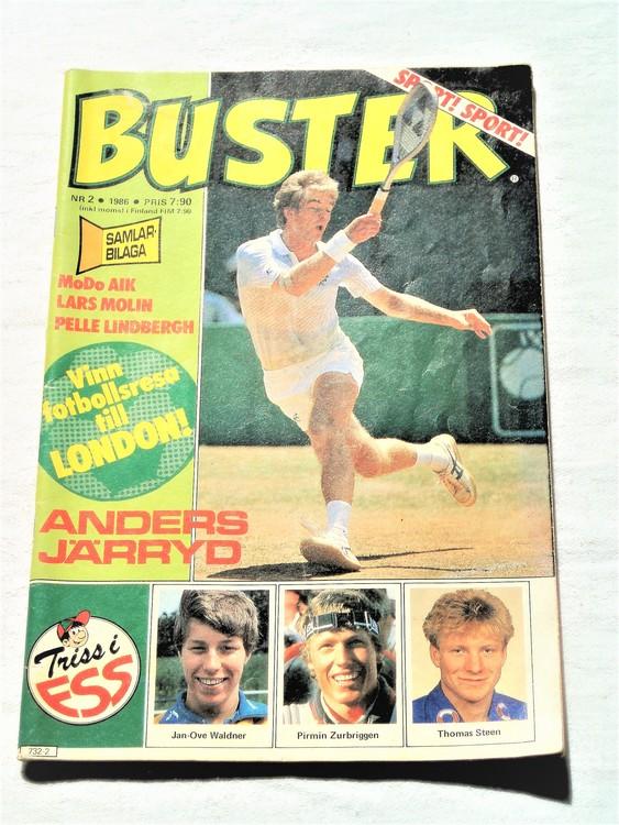 Buster nr2 1986 semic,bra skick,normalsliten