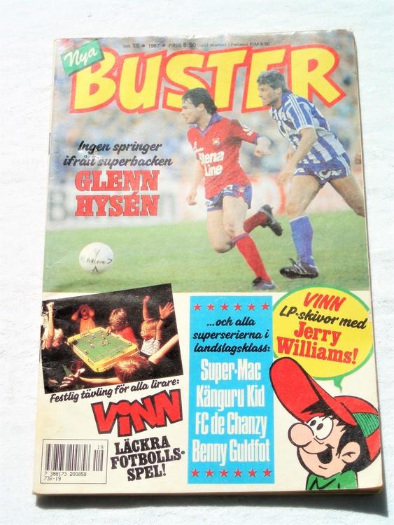 Buster nr19 1987 semic,bra skick,normalsliten