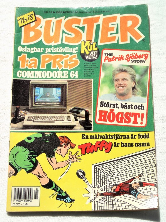Buster nr 18 1988 semic bra skick normalsliten