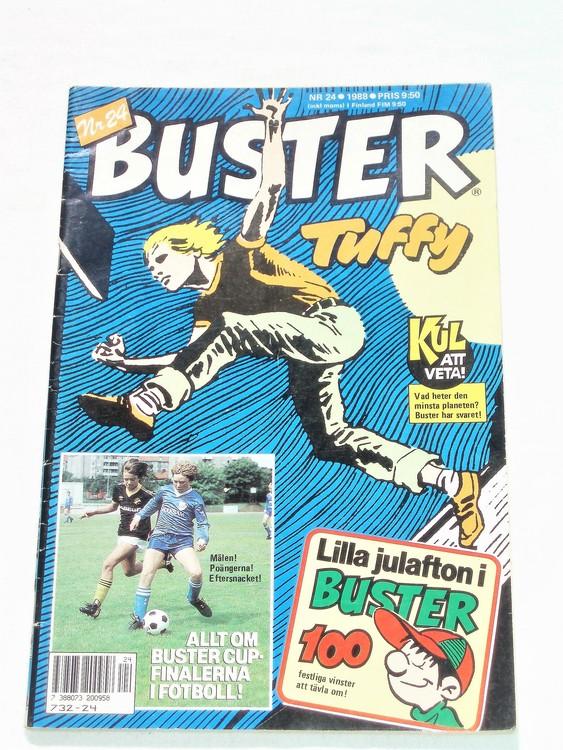 Buster nr 24 1988 semic bra skick normalsliten.