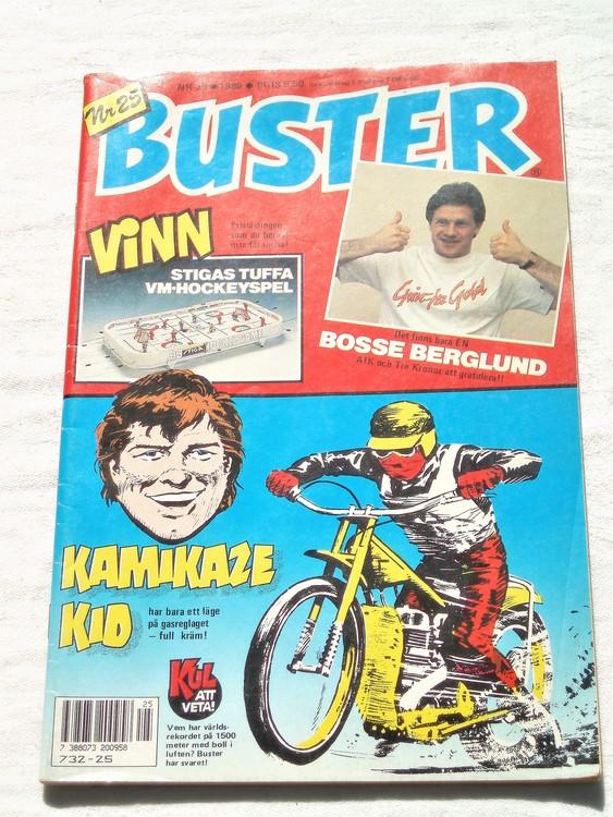 Buster nr 25 1988 semic bra skick normalsliten