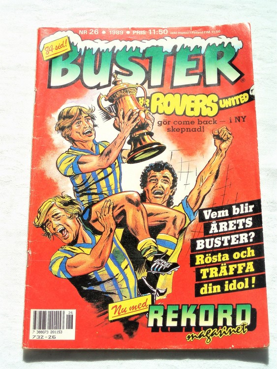 Buster nr 26 1989 semic bra skick normalsliten