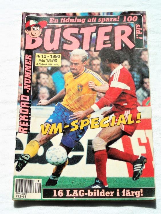 Buster nr 12 1990 semic bra skick normalsliten