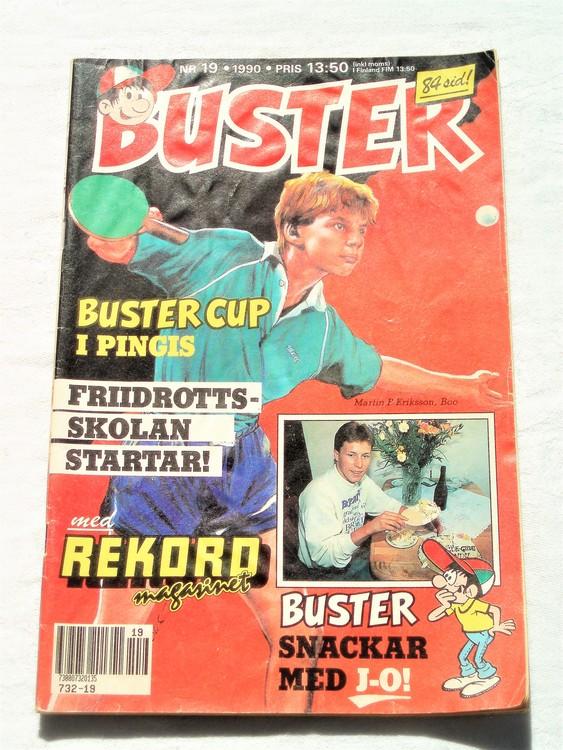Buster nr 19 1990 semic bra skick normalsliten