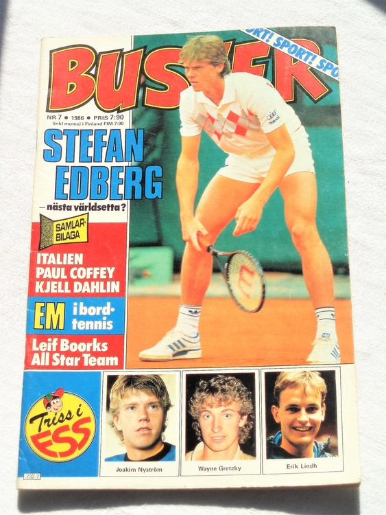 Buster nr 7 1986 Semic bättre skick normalsliten