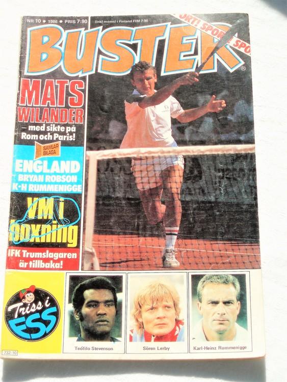 Buster nr 10 1986 Semic bättre skick normalsliten
