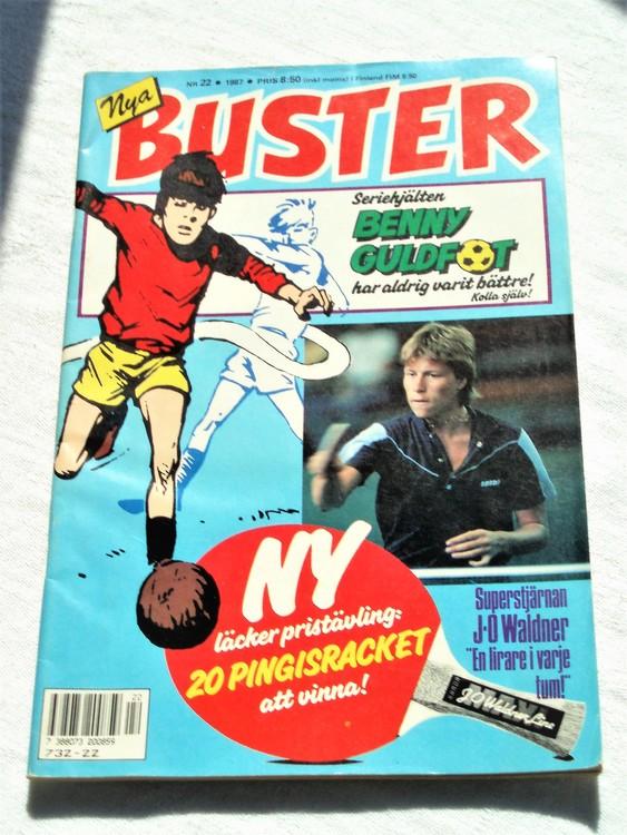 Buster nr 22 1987 Semic bättre skick normalsliten