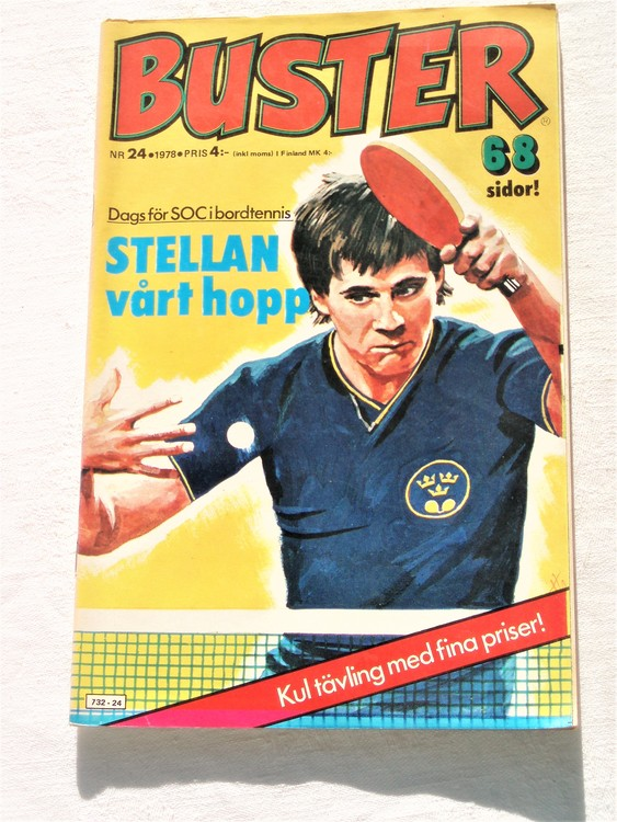 Buster nr 24 1978 mycket bra skick ny oläst