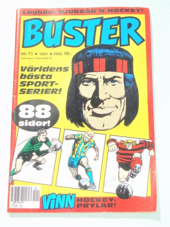 Buster nr 11,1991 mycket bra skick,lite skönhetsfel,annars som ny.