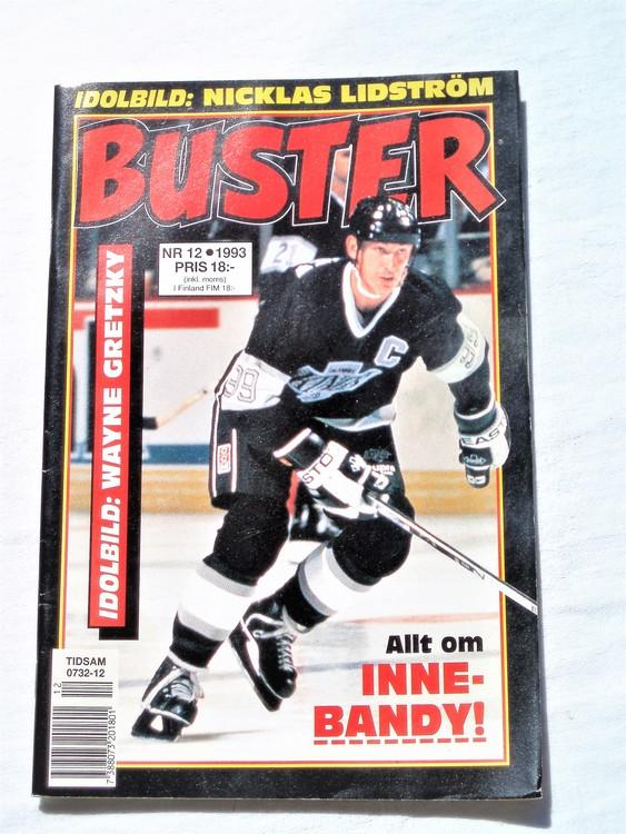 Buster nr 12 1993 Semic, mycket bra skick,normalsliten