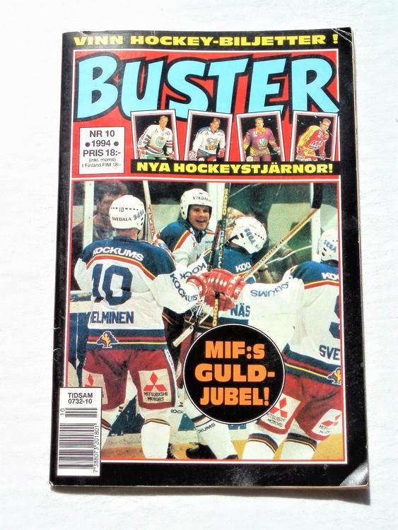 Buster nr 10 1994 Semic, mycket bra skick,normalsliten