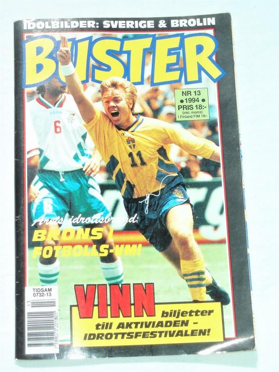 Buster nr 13 1994 Semic, mycket bra skick,normalsliten