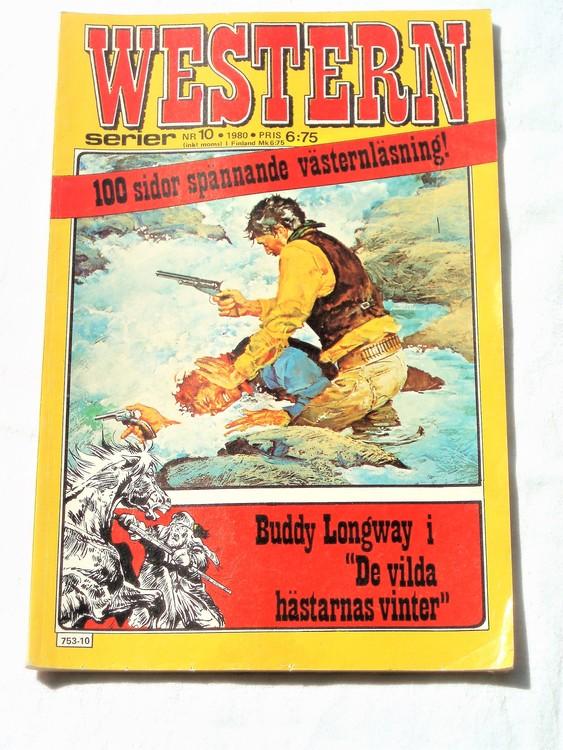 Western nr 10 1980 normalskick, normalslitet, bra skick