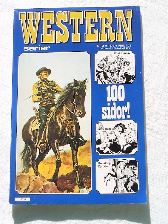 Western nr 2 1977, 100 sidor,mycket bra skick,ny oläst