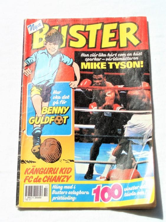 Buster nr 17,1987 Semic, sämre skick,mer sliten än normalt