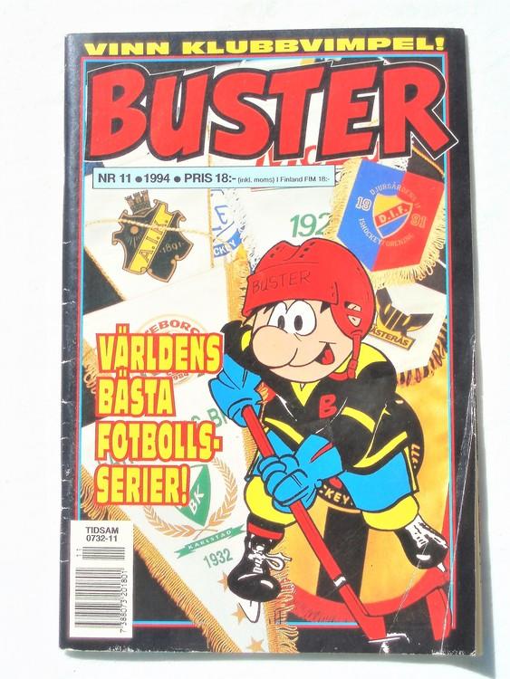 Buster nr 11,1994 Semic, sämre skick,mer sliten än normalt