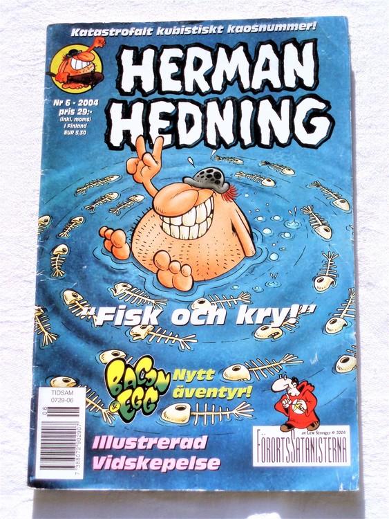 Herman Hedning nr 6 2004 bra skick.