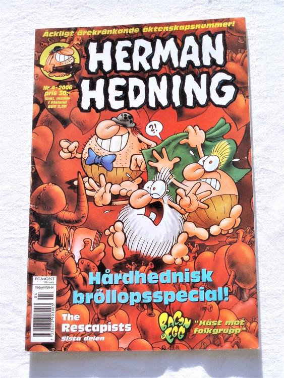 Herman Hedning nr 4 2006 bra skick.