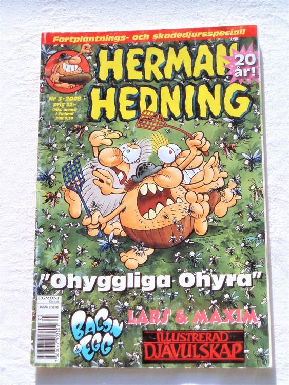 Herman Hedning nr 3 2008 bättre skick.