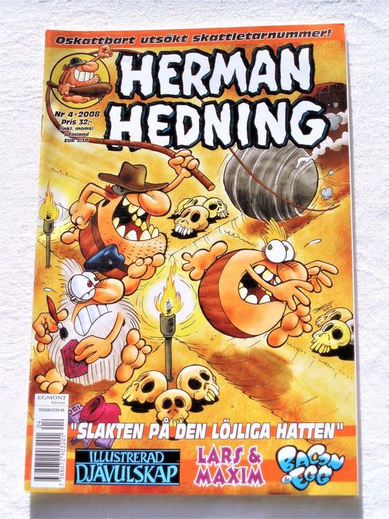 Herman Hedning nr 4 2008 bättre skick.