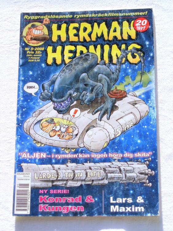 Herman Hedning nr 5 2008 bättre skick.