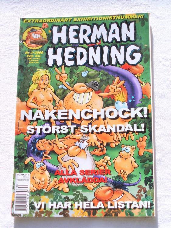 Herman Hedning nr 3 2009 mycket bra skick.