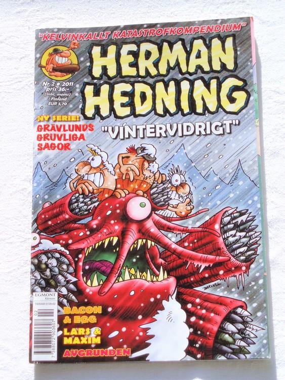 Herman Hedning nr 2 2011 mycket bra skick.