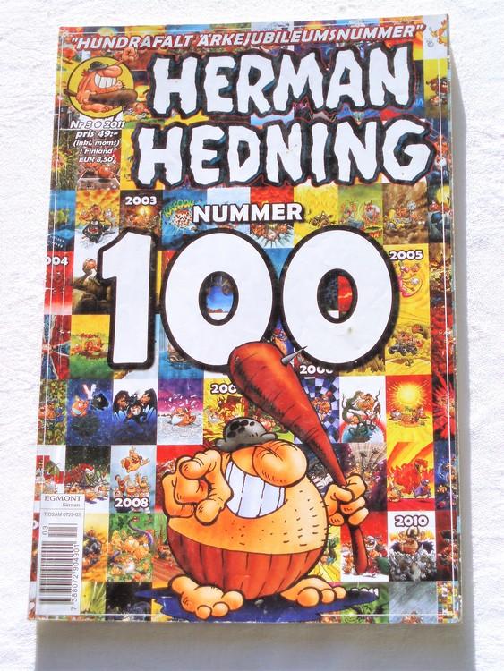 Herman Hedning nr 3 2011 mycket bra skick,lite sönder baksida.