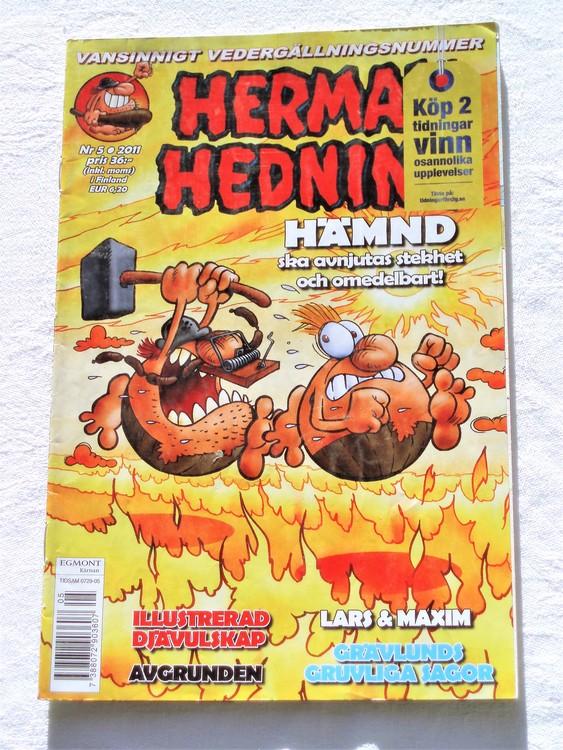 Herman Hedning nr 5 2011 mycket bra skick.