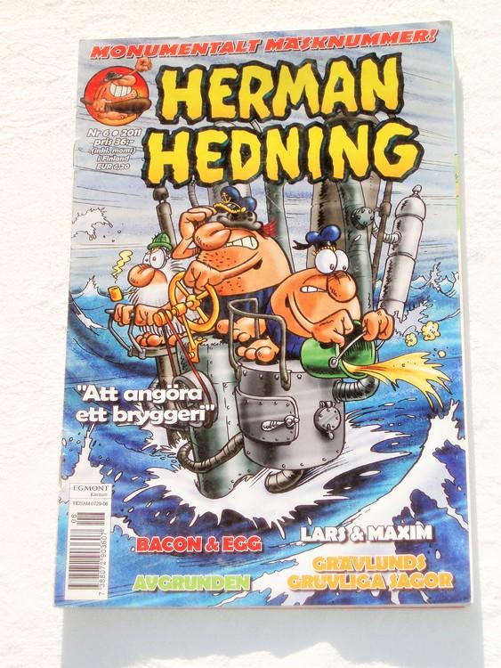 Herman Hedning nr 6 2011 mycket bra skick.