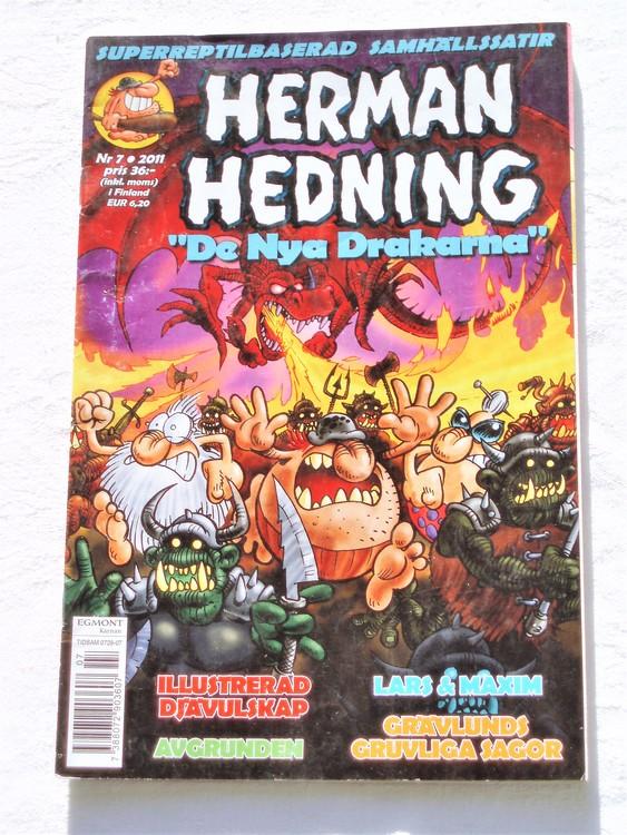 Herman Hedning nr 7 2011 mycket bra skick.