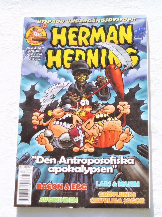 Herman Hedning nr 8 2011 mycket bra skick.