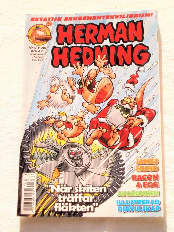 Herman Hedning nr 9 2011 mycket bra skick