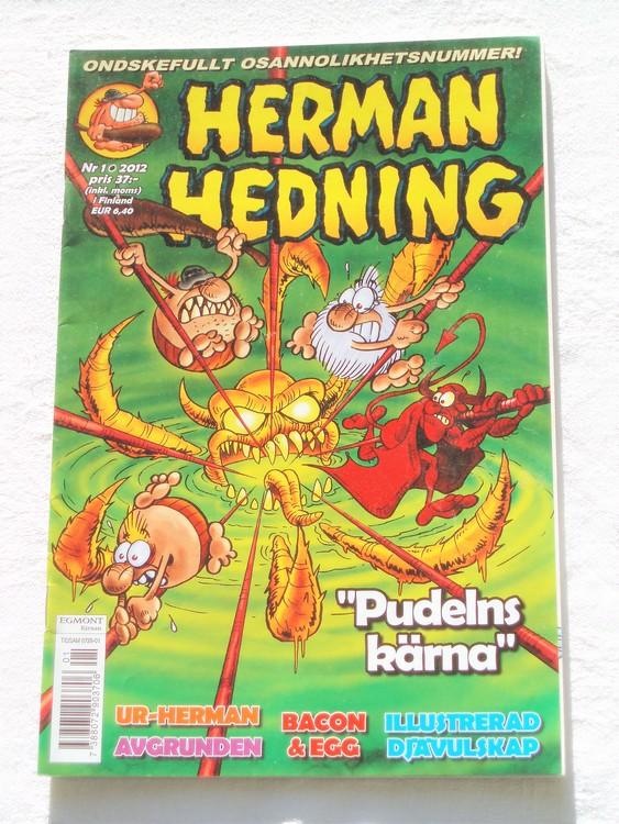 Herman Hedning nr 1 2012 mycket bra skick