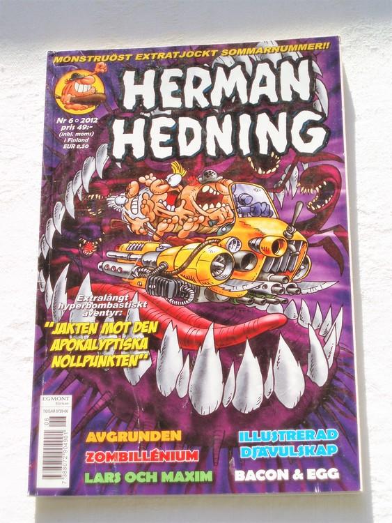 Herman Hedning nr 6 2012 mycket bra skick.