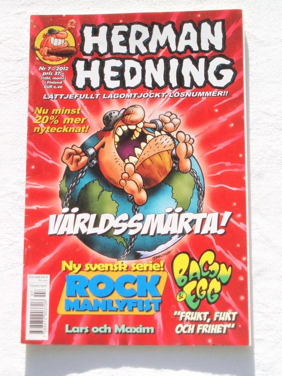 Herman Hedning nr 7 2012 mycket bra skick.