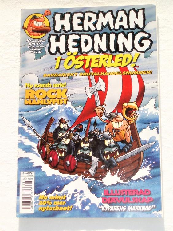 Herman Hedning nr 8 2012 mycket bra skick,nära nyskick,