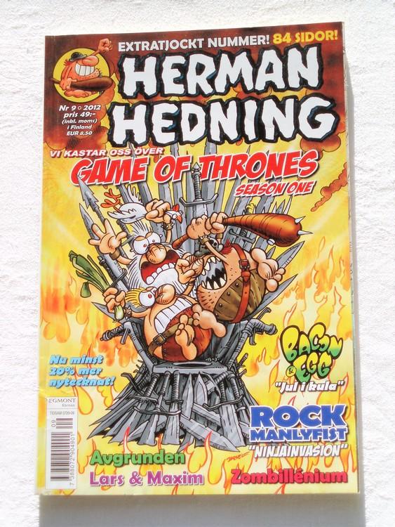 Herman Hedning nr 9 2012 mycket bra skick.