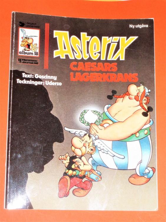 "Asterix""Caesars Lagerkrans""vg normalskick,normal slitet,hemmets journal,a18"