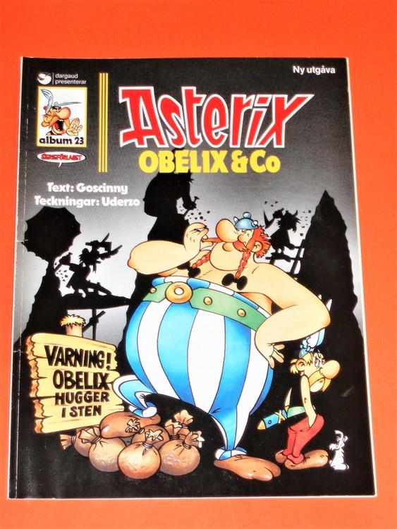 """Asterix """" Obelix & co """", vg, normalskick, normalslitet,hj, album 23"""