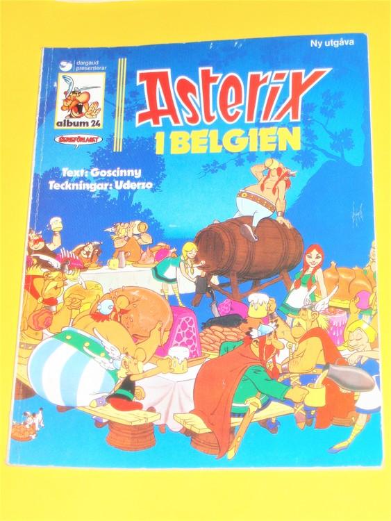 Asterix i Belgien, vg, normalskick, normalslitet,hj , album 24