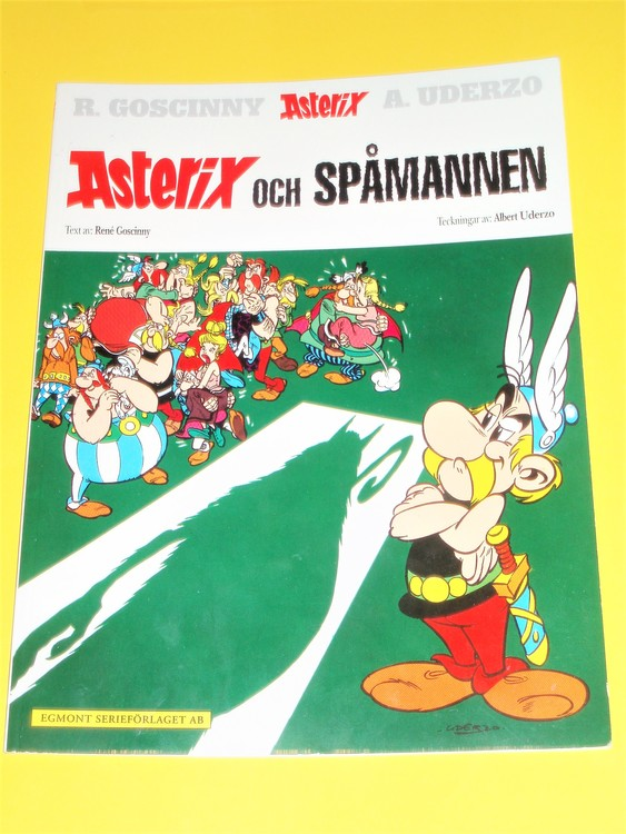 "Asterix "" och Spåmannen "", vg, normalskick, normalslitet"