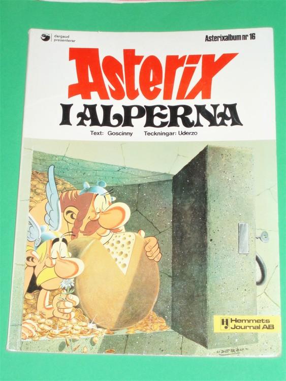 Asterix i Alperna, vg, normalskick, normalslitet