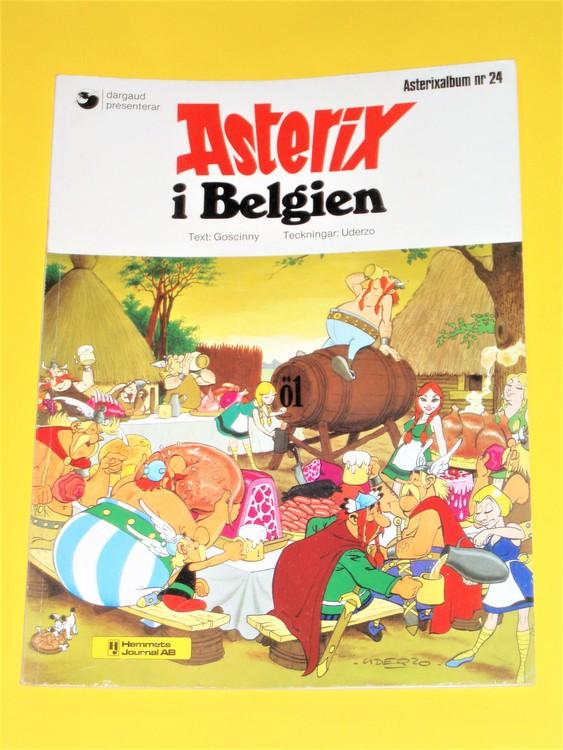 """Asterix """" i Belgien """", vg, normalskick, normalslitet"""