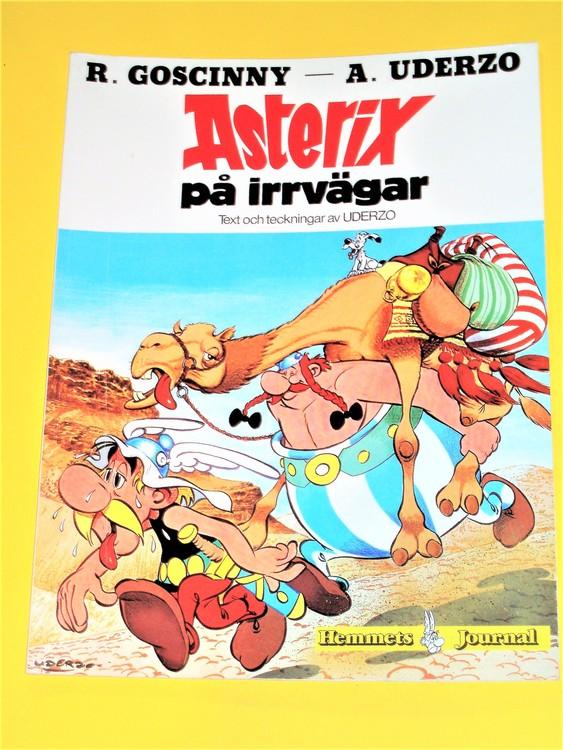 """Asterix """" på Irrvägar """", g, normalskick, normalslitet"""
