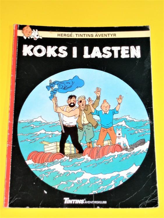 "Tintin "" Koks i lasten "" FN, bra exemplar, inga direkta defekter"