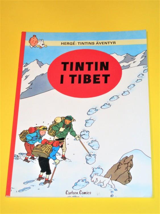 """Tintin """" I Tibet """" FN, bra exemplar, inga direkta defekter"""
