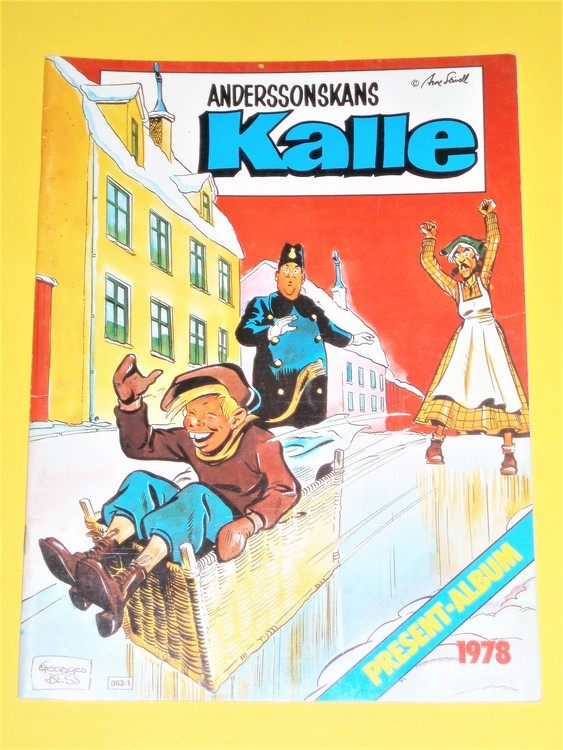 Anderssonskans Kalle 1978 VG, normalskick, normalslitet, Skrivet på insida