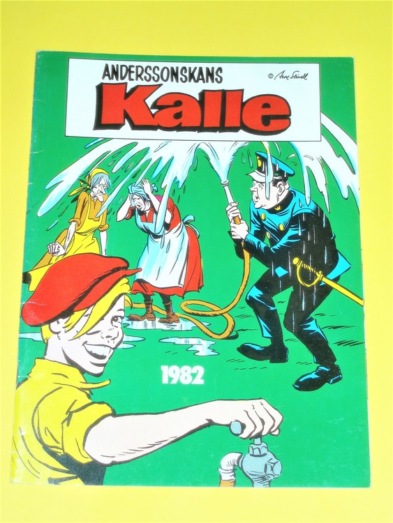 Anderssonskans Kalle 1982 VG,normalskick,normal slitet, inga direkta defekter.